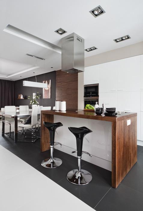 kuchnia jadalnia wilanów apartament do wynajęcia Sarmacka 28